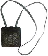 Maison Margiela Green Fur Handbag