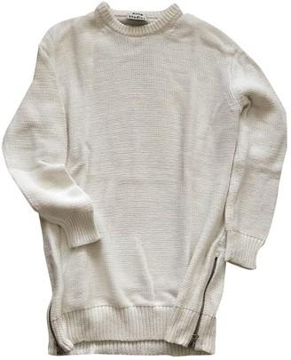 Acne Studios White Cotton Knitwear for Women
