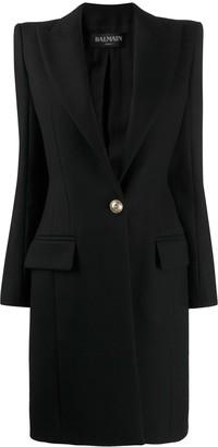 Balmain long line blazer