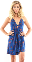 Free People Tropical Daydream Dress in Blue Combo
