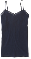 Aeropostale Solid Lace Cami