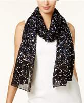 MICHAEL Michael Kors Twinkling Star Metallic Scarf & Wrap in One