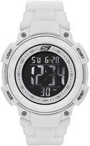 Skechers Men's SR1020 Digital Display Quartz White Watch