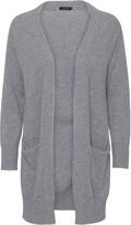 Oh Simple - Husky Grey Long Cashmere Cardigan - xs
