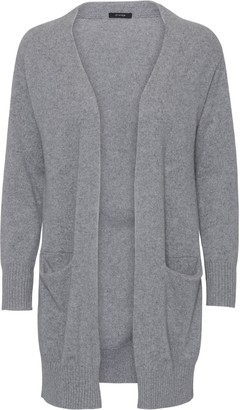 Oh Simple - Husky Grey Long Cashmere Cardigan - xs