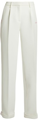 Off-White Bonded Wide-Leg Trousers