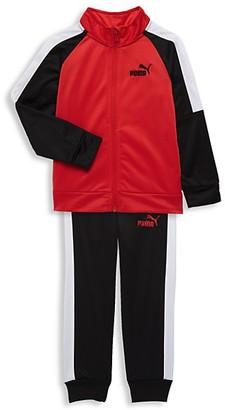 Puma Little Boy's 2-Piece Tricot Track Jacket Pants Set