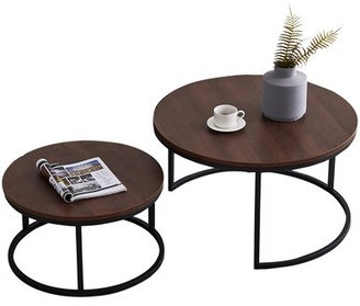 17 Stories Melby 2 Piece Coffee Table Set