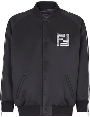 Fendi Prints On bomber jacket