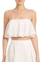 Nicholas Geo Lace Flared Top