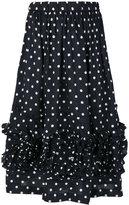 Comme des Garcons polka dot skirt