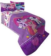 Hasbro ML4398 My Little Pony Ponyfied Reversible Comforter, Twin/Full
