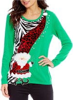"Berek Wobbly Mr Kringle"" Christmas Sweater"