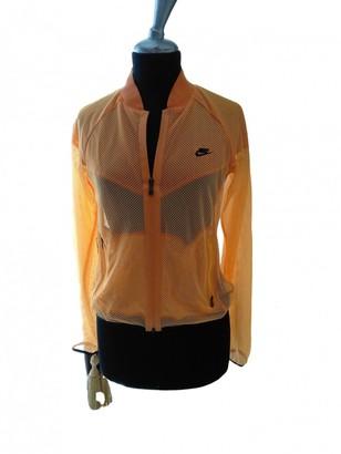 Nike Orange Jacket for Women
