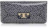 Tory Burch Gigi Printed Patent Leather Clutch