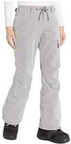 Roxy Nadia Short Snow Pants (Heather Grey) Women's Clothing