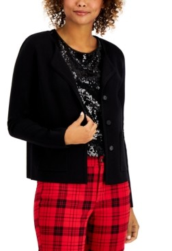 Charter Club Sweater Jacket, Created for Macy's
