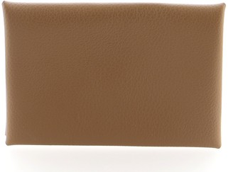 Hermes Calvi Card Case Evercolor