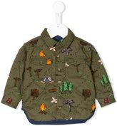 Stella McCartney Hunter explorer shirt - kids - Cotton/Polyamide/Polyester - 6 mth