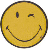 Anya Hindmarch Yellow Leather Wink Sticker