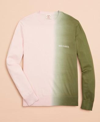Brooks Brothers Cotton Ombre Crewneck Sweater