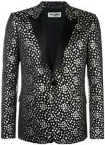 Saint Laurent Iconic Le Smoking jacquard blazer