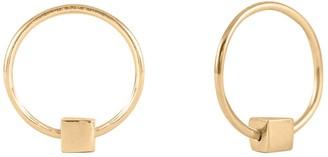 Lee Renee Cube & Hoop Earrings Mini