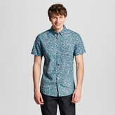 Mossimo Men's White Palm Print Shirt