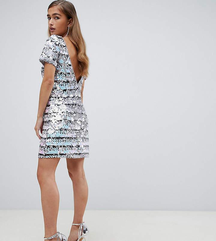 4beca1793bb1 Rainbow Sequin Dress - ShopStyle