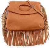 Urban Originals Style Icon Faux-Leather Shoulder Bag, Black