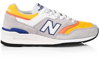 New Balance Men's 997 Made In US Colorblock Sneakers
