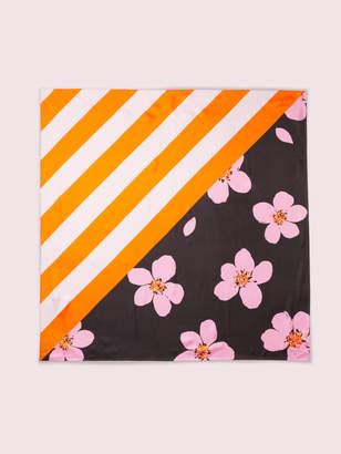 Kate Spade grand flora scarf