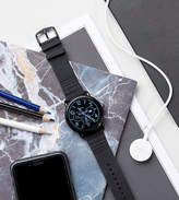 Fossil Q FTW2103 Wander Leather Smart Watch In Black
