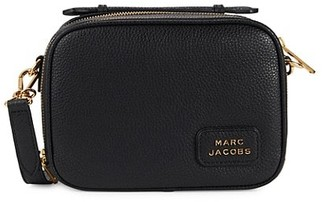 Marc Jacobs Pebbled Leather Box Crossbody Bag