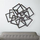 Crate & Barrel Multi Squares Wall Art
