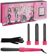 4-Piece Clipless Quad Curler Set