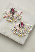 Shourouk Color Burst Drop Earrings