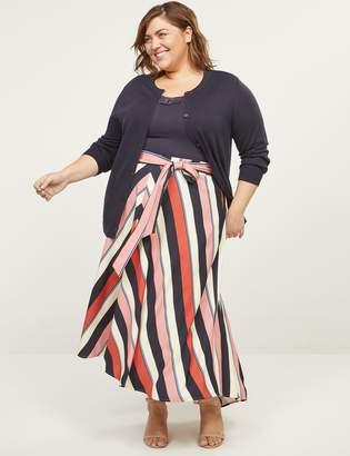 Lane Bryant Lena High-Low Maxi Skirt