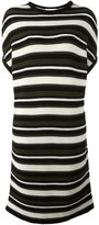 Gianluca Capannolo striped knitted T-shirt dress - women - Wool - S