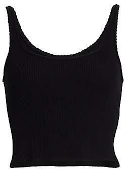 3.1 Phillip Lim Women's Picot Stitch Knit Tank Top