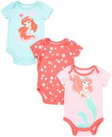 Children's Apparel Network Pink Ariel Bodysuit Set - Infant