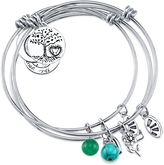 "Shine Charm Bangles ""Shoot for the Moon"" Value Set of 3"