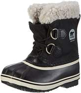 Sorel Yoot Pac Nylon, Unisex Kids Snow Boots, Black (Black 010), 3.5 Child UK (36 EU)