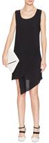 OAK Draped Skirt Sleeveless Dress