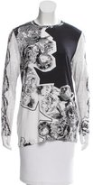 Prabal Gurung Silk-Blend Floral Print Top
