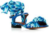 Missoni Sidi Silk Wrapped Sandals