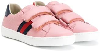 Gucci Kids Web sneakers