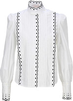 See by Chloe Scalloped Trim Blouse