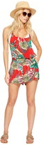 Roxy Sandy Break Romper Cover-Up Women's Jumpsuit & Rompers One Piece