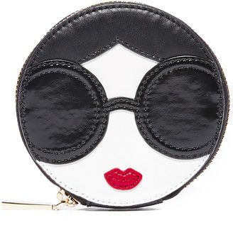 Alice + Olivia Stace Face Circular Coin Pouch